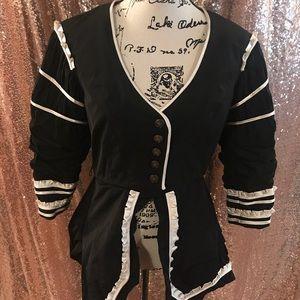Bebe Crop High-Lo Jacket